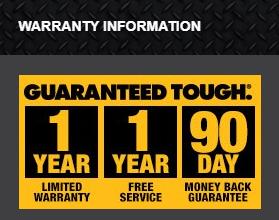 DeWalt heated Jacket warranty
