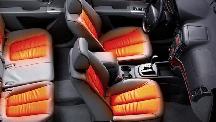 how does a heated seat work