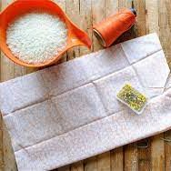 DIY RICE BAG FOR HEAT THERAPY