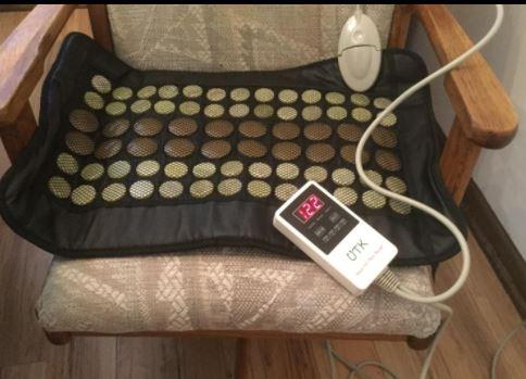 UTK Far Infrared Natural Jade and Tourmaline Heating Pad for cramps