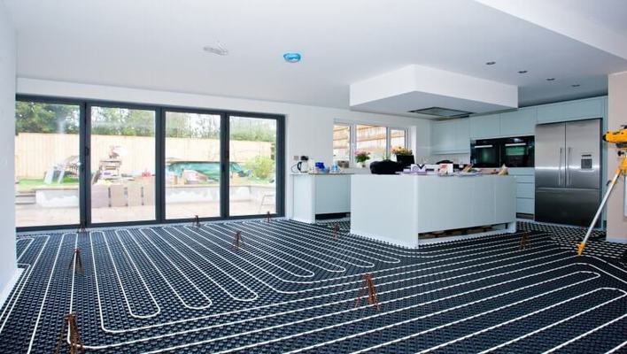 best heated floor systems