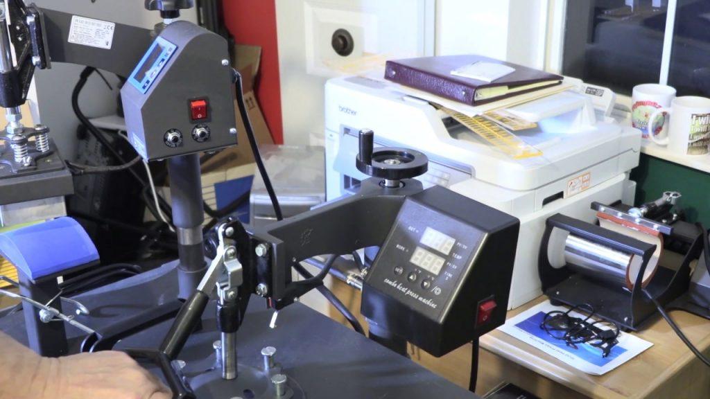 Mophorn 5 in 1 Heat Press Machine