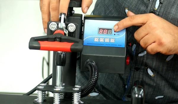 Heat press machine time and temperature chart