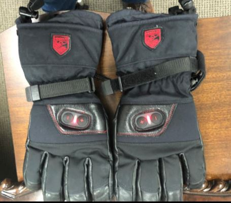 Hestra heated gloves picture
