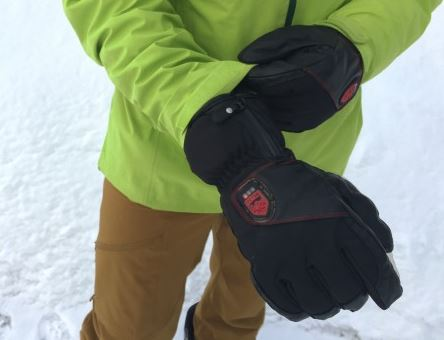 outdoor experience with hestra heated gloves