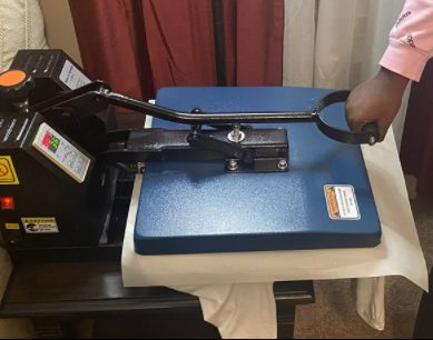 Fancierstudio Heat Press machine controls