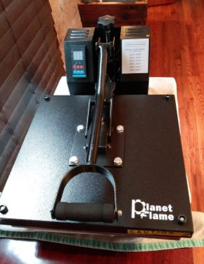 PlanetFlame factory heat press