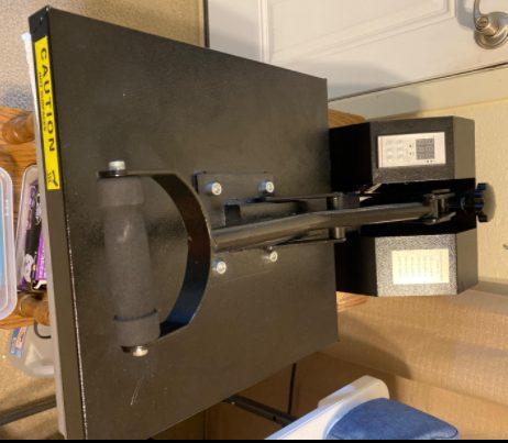 Powepress heat press machine is sturdy and huge