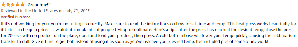Powerpress customer reviews