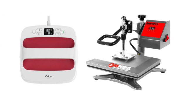 cricut easypress vs heat press machine