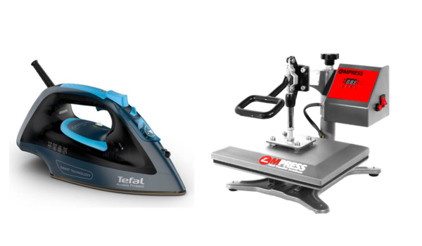 heat press vs iron