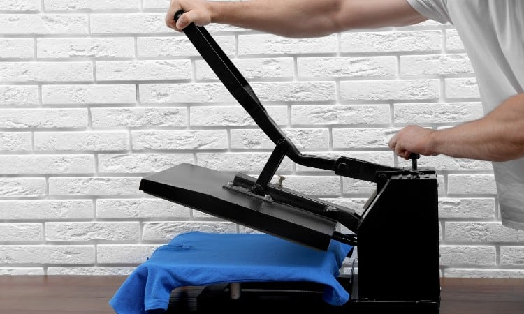 how to heat press on polyester